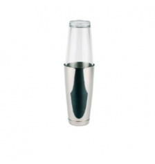 COCTELERA BOSTON INOX-CRISTAL