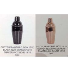 COCTELERA COBRE/INOX O NEGRA