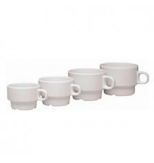 TAZA DE CAFE DE 11 CL. BLANCA (PACK 6 Unidades)