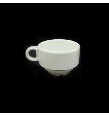 TAZA DE CAFE BLANCA 11 CL. (PACK 6 Unidades)
