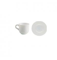 TAZA DE CAFE 10 CL. C/PLATO EBRO HA (PACK 12 Unidades)