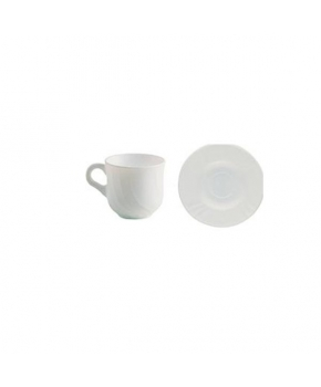 TAZA DE THE 16 CL.C/PLATO EBRO HARM (PACK 12 Unidades)